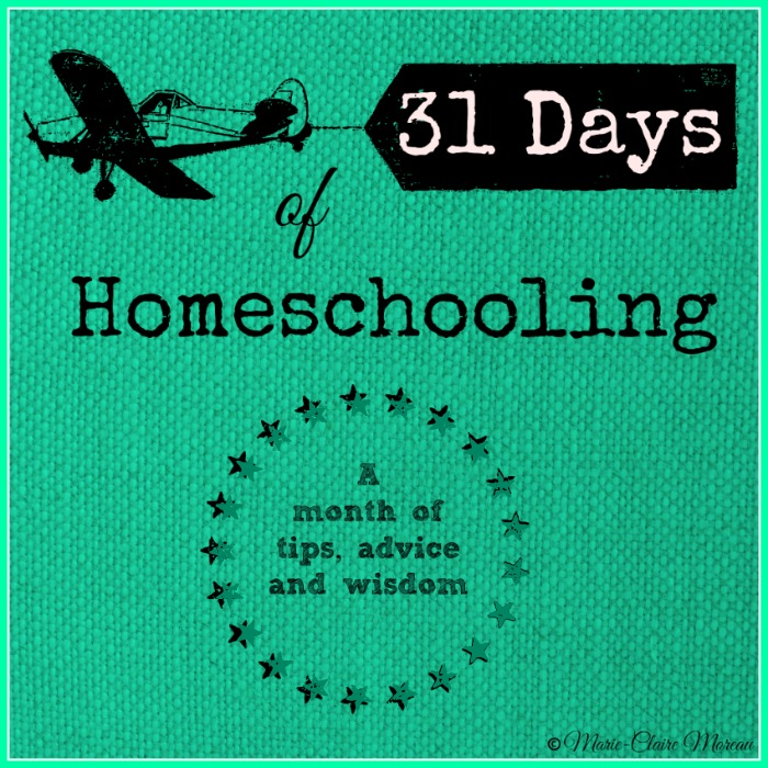 31 Days of Homeschooling ~ Quick Start Homeschool