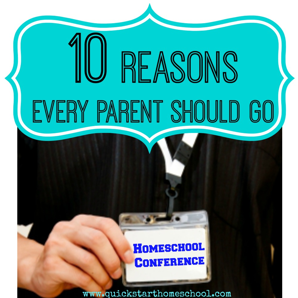 Why every parent should go to a homeschool conference
