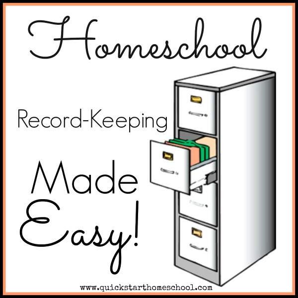 Record keeping made easy! {Quick State Homeschool}