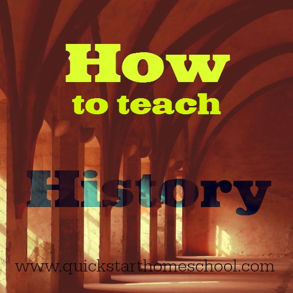 how to teach history
