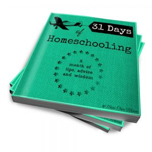 31 Days of Homeschooling